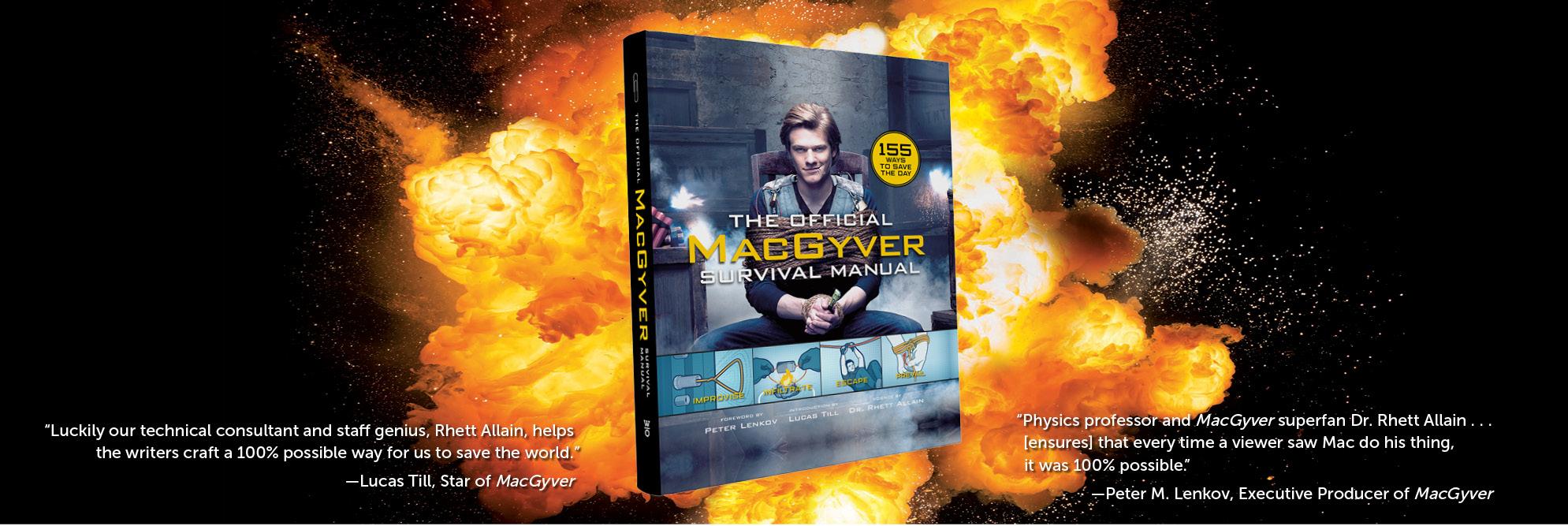 Macgyver Hero Banner